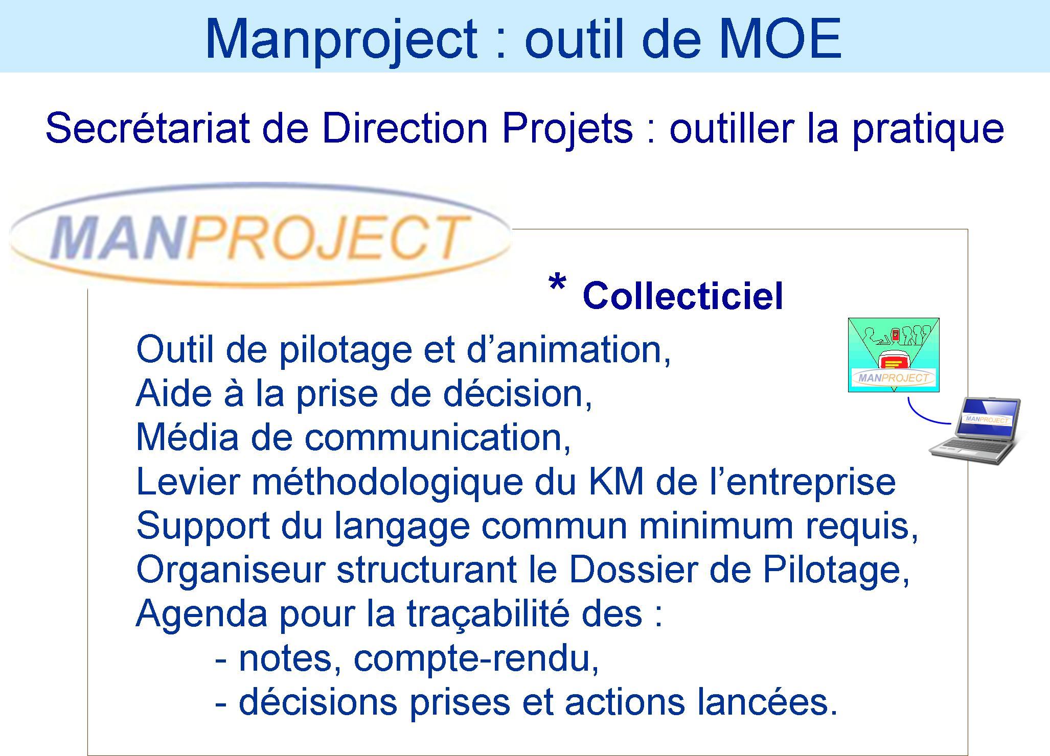 Manproject Outil de MOE